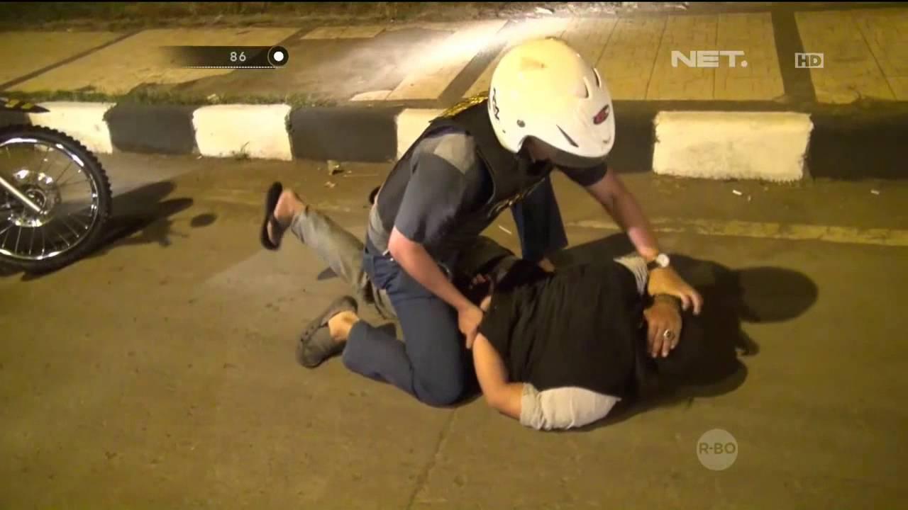 Kumpulan Aksi Dramatis Polisi Dalam Pengejaran Dan Penangkapan Begal