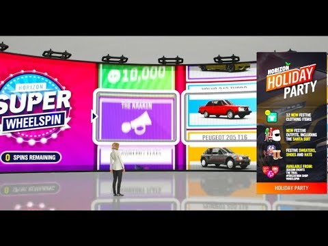 Forza Horizon 4 - Fortune Island Super Wheelpsins / Any NEW Items?? | SLAPTrain