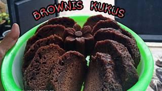 Resep BROWNIS KUKUS 5 bahan anti gagal