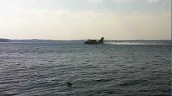Water Bomber for Kirkland lake fire