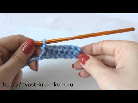 Вязаные тапочки крючком видео урок