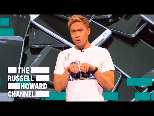 We Are Addicted to Screens | The Russell Howard Hour