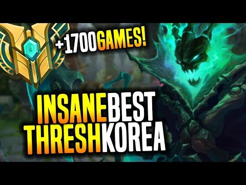Best Thresh Korea is Insane! (New Madlife?) Korean Thresh Ma