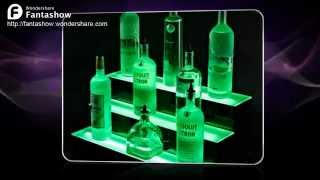 Led Wall Mount Liquor Display Shelves