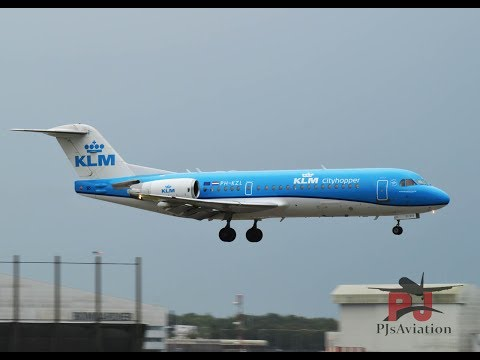Tripreport! KLM cityhopper (Economy) Fokker 70! Belfast-Amsterdam