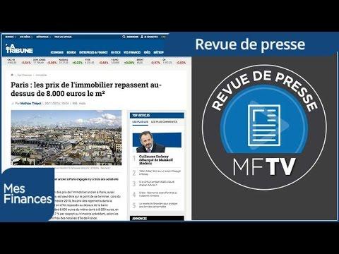 Revue de presse semaine 49 : dons aux associations, immobilier parisien et assurance vie