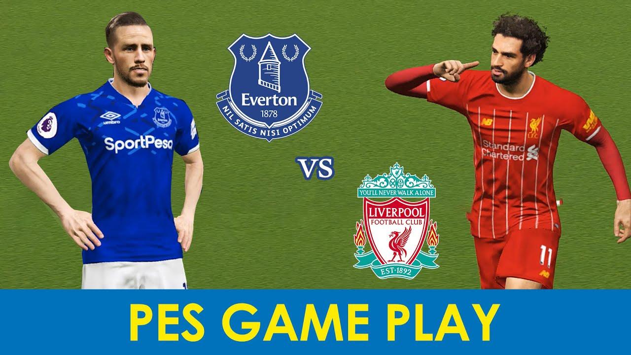 Game Play PES | Everton  vs Liverpool  | Premier League 22/06/2020