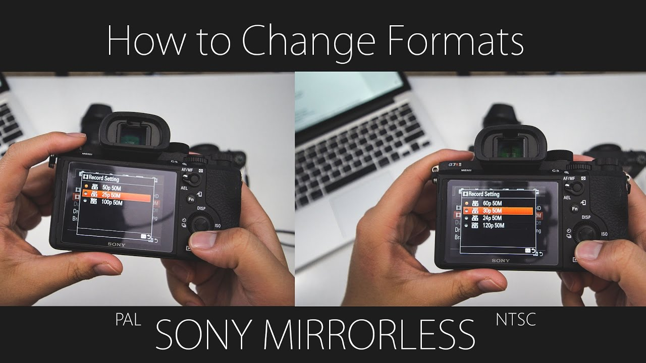 Sony Mirrorless: Switch Between NTSC and PAL — that1cameraguy