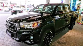 "TOYOTA 2019 HILUX BLACK RALLY EDITION ""Rocco"" 218 Blackmica"