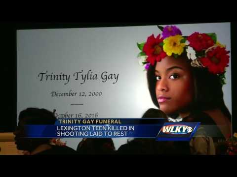 Funeral services held in Lexington for Trinity Gay
