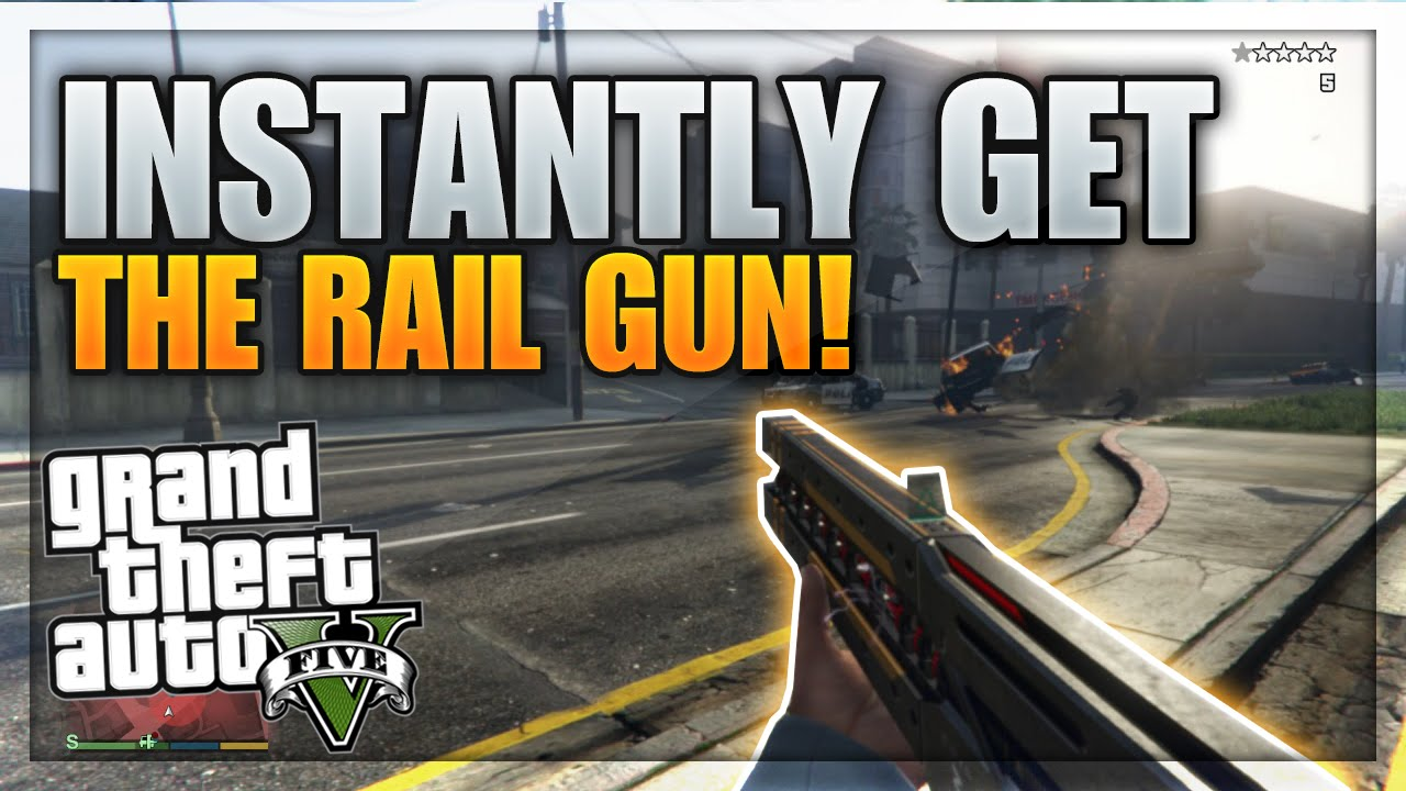 how to get free guns on gta 5