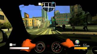 Driver San Francisco PC Gameplay Maxed out on HD5550