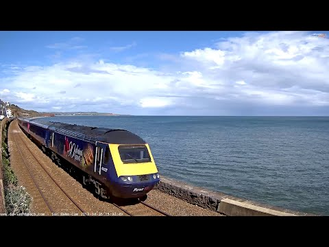 Live Weather UK Beach Cam Brunel Railway Dawlish Devon - San Remo Cam