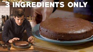 Healthy Flourless Sugar-Free Chocolate Cake Recipe