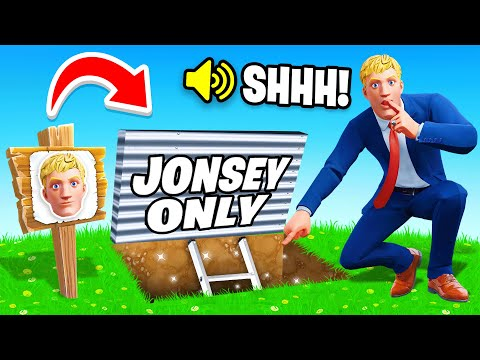 I Went UNDERCOVER in a JONESY ONLY Tournament! (Fortnite) - TG Plays