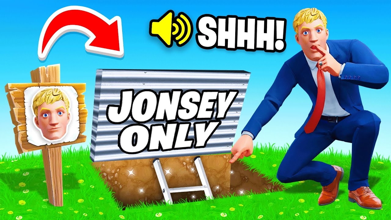 I Went UNDERCOVER in a JONESY ONLY Tournament! (Fortnite)