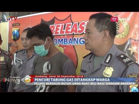 Kepergok Mencuri 2 Tabung Gas Elpiji, Pria Ini Berdalih Ingin Beli Seragam Anak - BIP 21/09