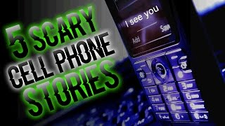 5 DISTURBING TRUE Cell Phone Incidents | SERIOUSLY STRANGE #64