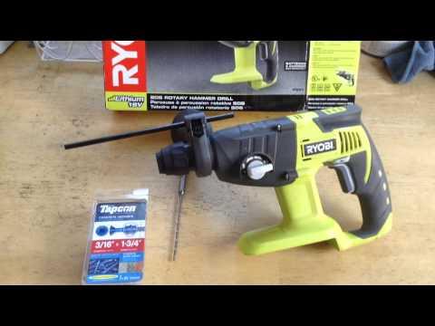 ryobi hammer drill instructions