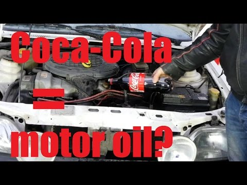 Can you use Coca-Cola as a Motor oil?