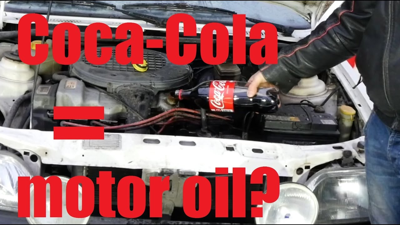 Can You Use Coca Cola As A Motor Oil Youtube