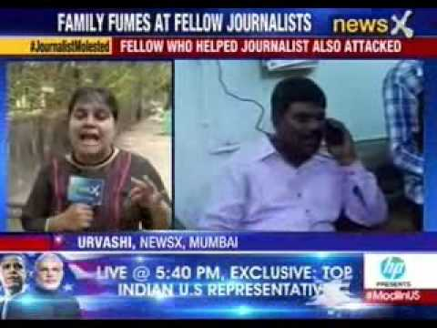 Woman Journalist in Mumbai molested and threatened