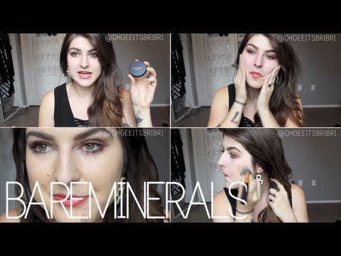 experimenting w/ mineral foundation. ☠ 1st impression, etc.