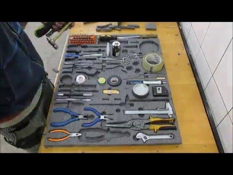 Ложементы для инструментов своими руками
