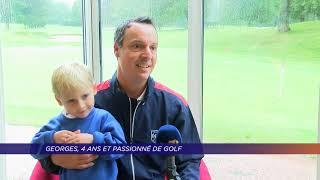 Yvelines | Georges, 4 ans et passionné de golf