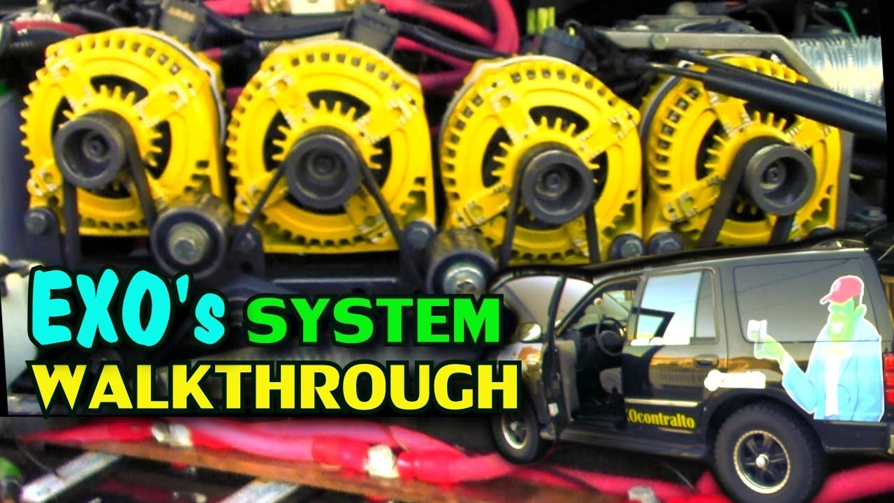 System Walkthrough W Exo S Car Audio Build Crescendo Speakers Logic Batts Iraggi Alternators