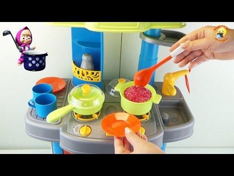Детская кухня, игровой набор для девочек / Children's Kitchen, Play Sets For Girls