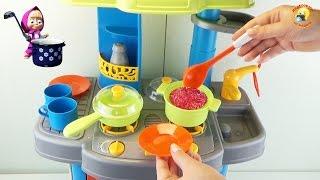 Детская кухня, игровой набор для девочек / children's kitchen, play sets for girls(Детская кухня 008-26 А. Распаковка и обзор игрового набора. Игрушка предоставлена интернет-магазином