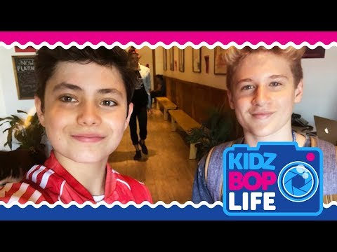 KIDZ BOP Life: Vlog # 20 - Tour Rehearsals with Shane