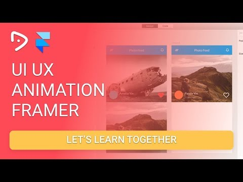 Framer - Button Love Instagram UI Design Animation