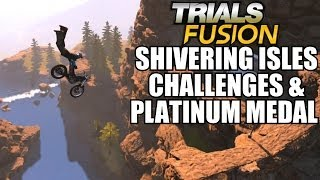 Trials Fusion Shivering Isles Making Waves Fragile. Be Careful Path To Enlightenment Challenge