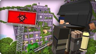 Эпидемия захватила город [ЧАСТЬ 33] Зомби апокалипсис в майнкрафт! - (Minecraft - Сериал)