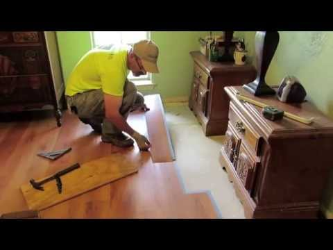 DIY Home Improvement: EC Lock Grip Strip Luxury Floating Vinyl Planks
