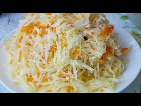 Квашеная капуста на зиму, цыганка готовит. Самая вкусная капуста. Gipsy Cuisine.