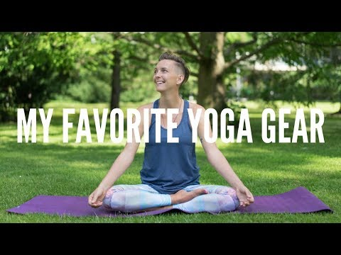 MY BEST YOGA MAT, YOGA PANTS & YOGA BRA! #yogagear2018