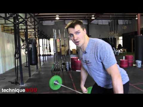 How to Do Hang Power Cleans Technique WOD