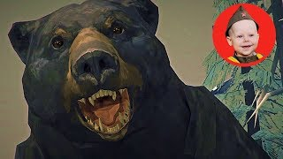 The Long Dark - Desolation Point episode 2 (PS4). Our First Bear Mauling