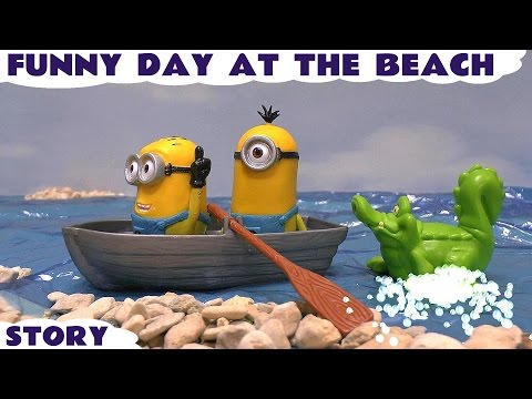 Play Doh Minions Funny Beach Story Peppa Pig Ice Cream Despicable Me Thomas and Friends Toy Story