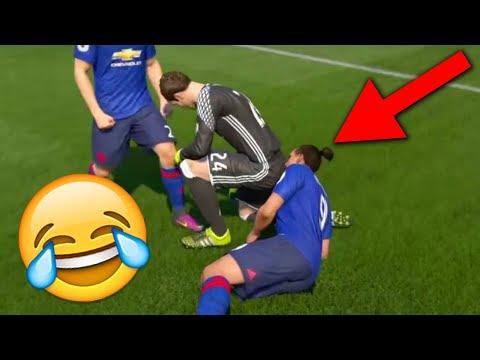 FIFA 18 FAILS AND GLITCHES (FIFA 18 Funny Moments Compilation)