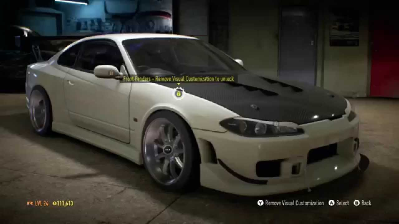 need for speed 2015 nissan silvia s15 drift build youtube. Black Bedroom Furniture Sets. Home Design Ideas