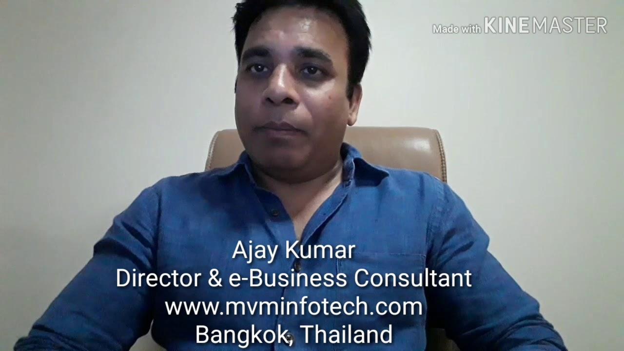 Mvm Infotech Introduction Web Design Company In Bangkok Thailand Web Design Thailand Youtube