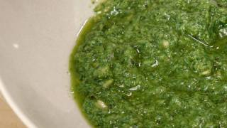 Pesto From Scratch - Recipe By Laura Vitale - Laura In The Kitchen Episode 127