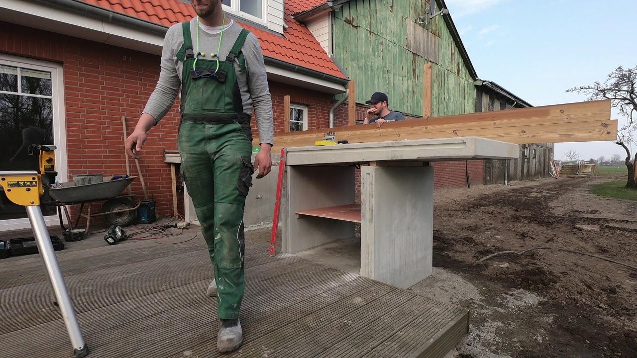 Wir bauen eine Outdoor-Küche