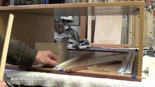 How To Make Plywood Boxes • 61 Of 64 • Woodworking Project For Kitchen Cabinets, Desks, Etc...