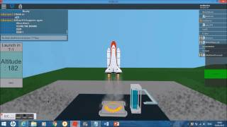 STS-154 - STS-Ambition - ROBLOX NASA Mission