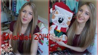 Wishlist 2014 ❄ Ce que je veux pour Noël !